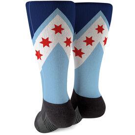Running Printed Mid-Calf Socks - Chicago Stars