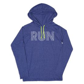 Men's Running Lightweight Hoodie - Run Lines