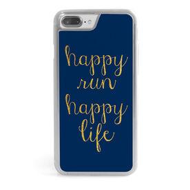Running iPhone® Case - Happy Run Happy Life