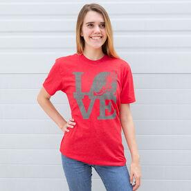 Track & Field Short Sleeve T-Shirt - Winged Foot Love