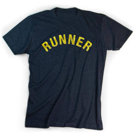 Running Short Sleeve T-Shirt - Runner Arc (Foil)