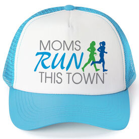 Running Trucker Hat - Moms Run This Town Logo