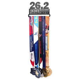 Race Medal Hangers 26.2 Math Miles MedalART