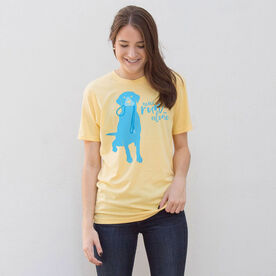 Running Short Sleeve T-Shirt - Never Run Alone