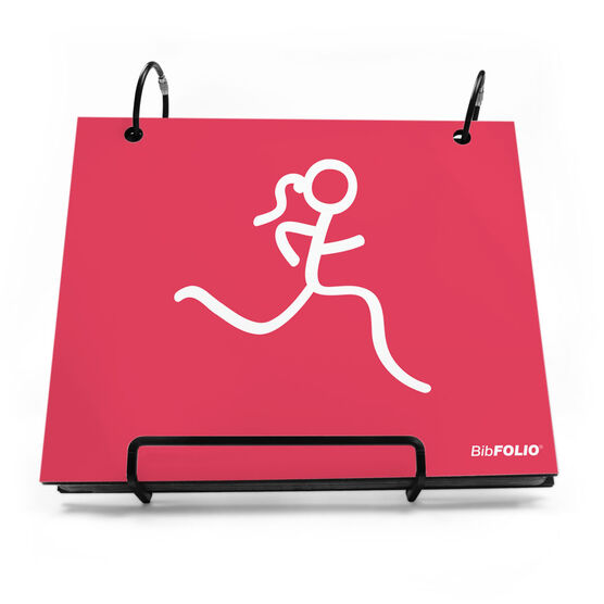 BibFOLIO® Race Bib Album - Run Girl
