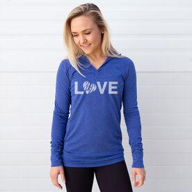 Women's Running Lightweight Performance Hoodie - Love Run