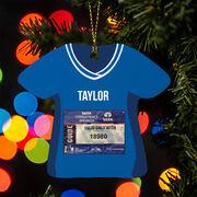 Running Ornament - Your Race Bib Shirt