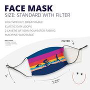 Triathlon Face Mask - Sunset Triathlon