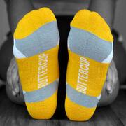Socrates® Woven Performance Sock Suck It Up (Yellow)