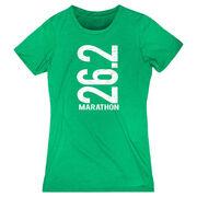Women's Everyday Runners Tee 26.2 Marathon Vertical