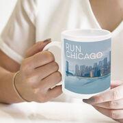 Running Coffee Mug - Chicago Sketch