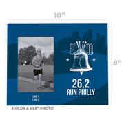 Running Photo Frame - 26.2 Philadelphia Liberty Bell