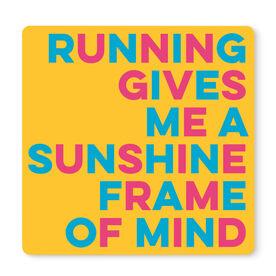 "Running 12"" X 12"" Removable Wall Tile - Sunshine Frame Of Mind"