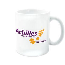 Coffee Mug - Achilles International-Nashville Logo