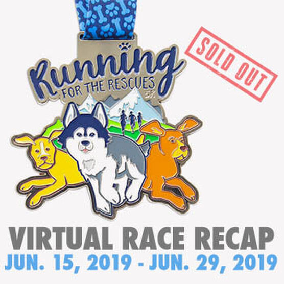 Virtual Race - Run For Rescues 5K (2019)