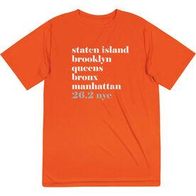 Men's Running Short Sleeve Tech Tee - Run Mantra NYC