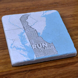 Delaware State Runner Stone Coaster