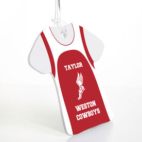 Track & Field Jersey Bag/Luggage Tag - Personalized Singlet
