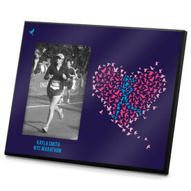 Running Photo Frame Run With Your Heart