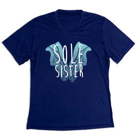 Women's Short Sleeve Tech Tee - Sole Sister Love