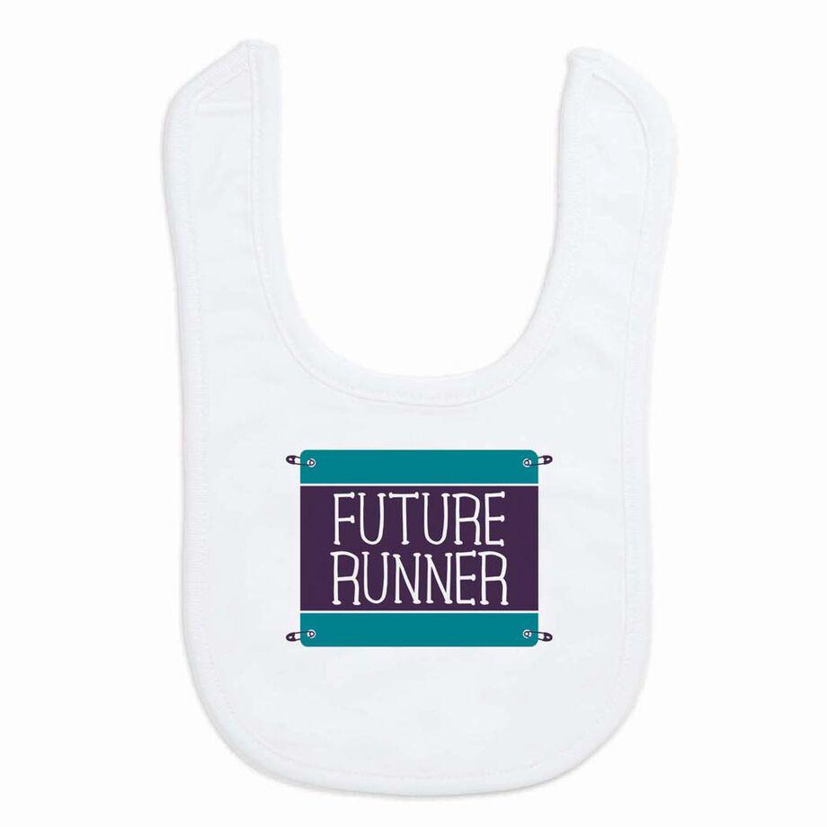 Running Baby Bib - Future Runner