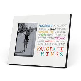 Running Photo Frame - Runner's Favorite Things