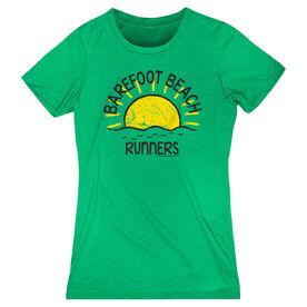 Women's Everyday Runner's Tee Run Club Barefoot Beach Runners