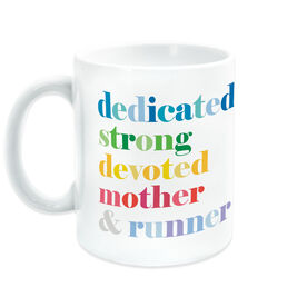 Running Coffee Mug - Mantra Mother Runner