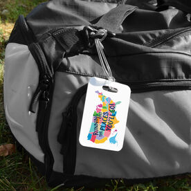 Running Bag/Luggage Tag - Running Oh The Places You'll Go