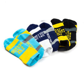 Socrates® Woven Performance Sock Set - Boston 26.2