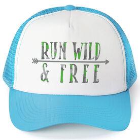 Running Trucker Hat - Run Wild & Free