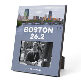 Running Photo Frame - Boston Sketch