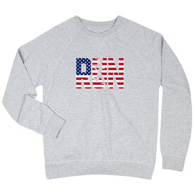 Running Raglan Crew Neck Sweatshirt - Run Girl USA