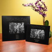 Triathlon Engraved Picture Frame - 140.6