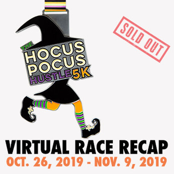 Virtual Race - Hocus Pocus Hustle 5K (2019)
