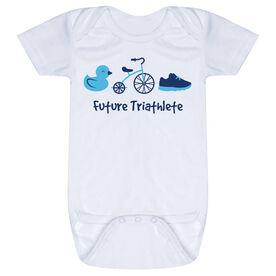 Triathlon Baby One-Piece - Future Triathlete