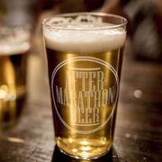 After Marathon Beer 16 oz Beer Pint Glass
