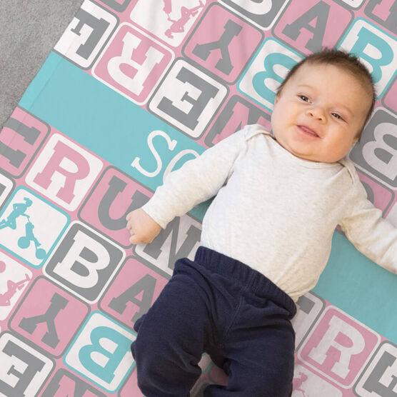 Running Baby Blanket - Runner Baby