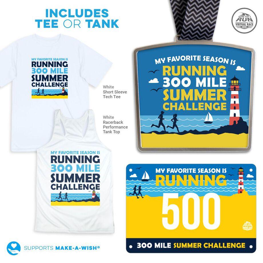 Virtual Race - 300 Mile Summer Challenge (2021)