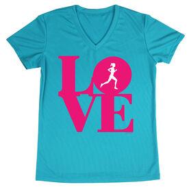 Women's Running Short Sleeve Tech Tee Runners Love