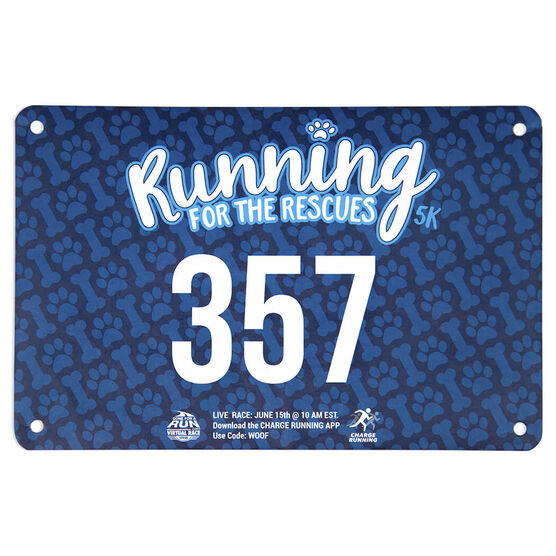 Virtual Race - Run For Rescues 5K (2019)