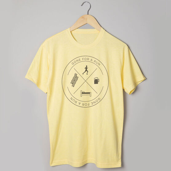 Vintage Running T-Shirt - Daily Routine