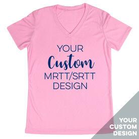 Women's Running Short Sleeve Tech Tee - Your Custom MRTT/SRTT Design