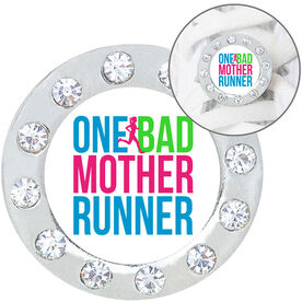 Running Shoe Lace Charm - One Bad Mother Runner