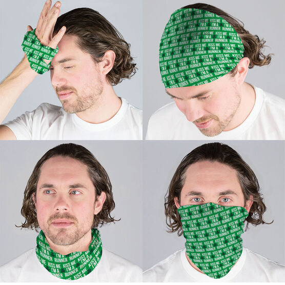Running Multifunctional Headwear - Kiss Me Shamrock Runner RokBAND