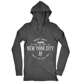 Women's Running Lightweight Performance Hoodie - New York City 26.2 (MRTT/SRTT)