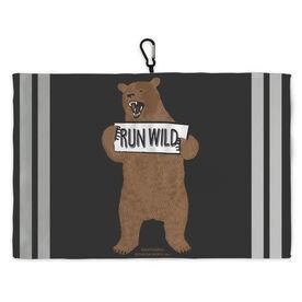 Running Workout/Golf Towel Run Wild Bear