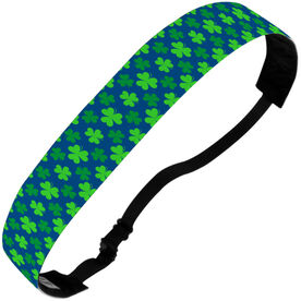 Athletic Julibands No-Slip Headbands - Clover Pattern