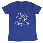 Women's Short Sleeve Tech Tee - Miles Then Margarita