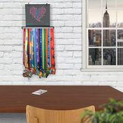 BibFOLIO+™ Race Bib and Medal Display Run With Your Heart